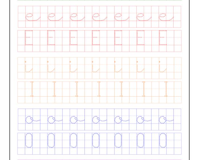 Ficha vocales cuadrícula imprimir, recursos educativos